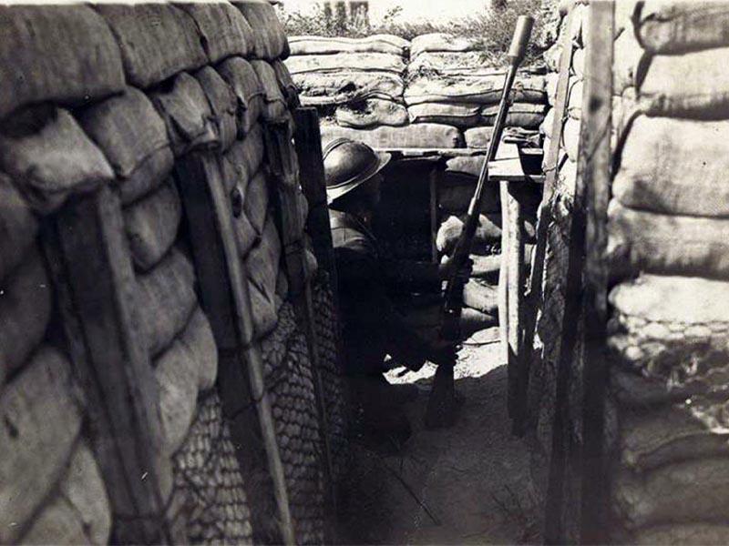 Α΄ Παγκόσμιος Πόλεμος - στα χαρακώματα