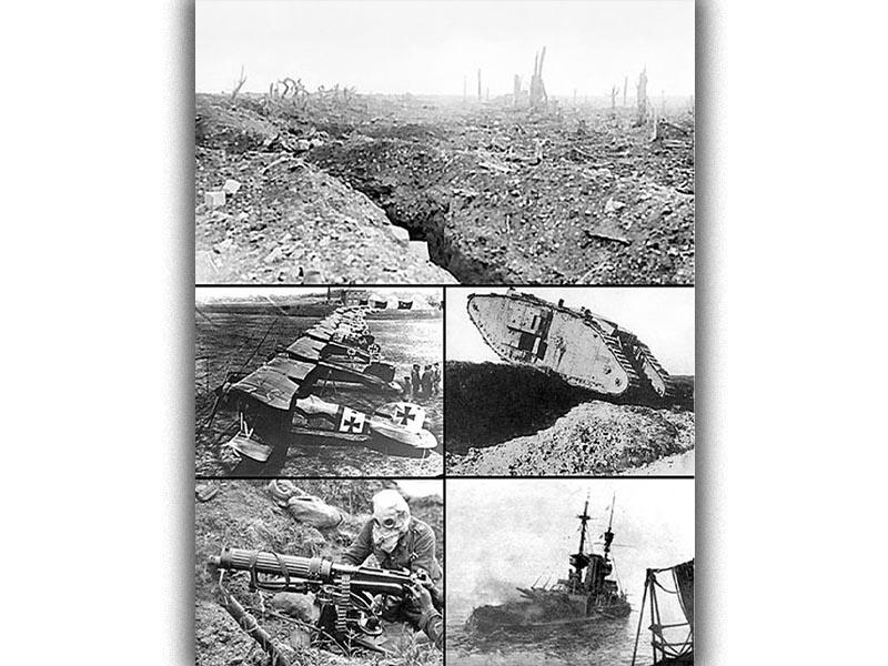 Στιγμιότυπα από την καταστροφή του Α΄ Παγκοσμίου Πολέμου