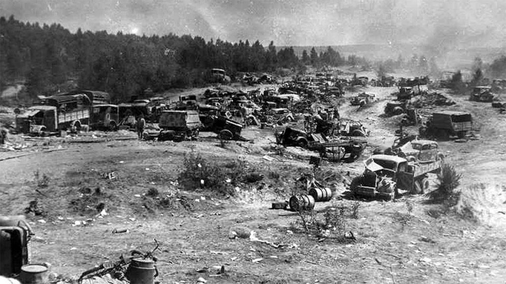 Β'ΠΠ - Κόκκινος Στρατός - Μινσκ - συντριβή Ομάδας Στρατιών «Κέντρο»