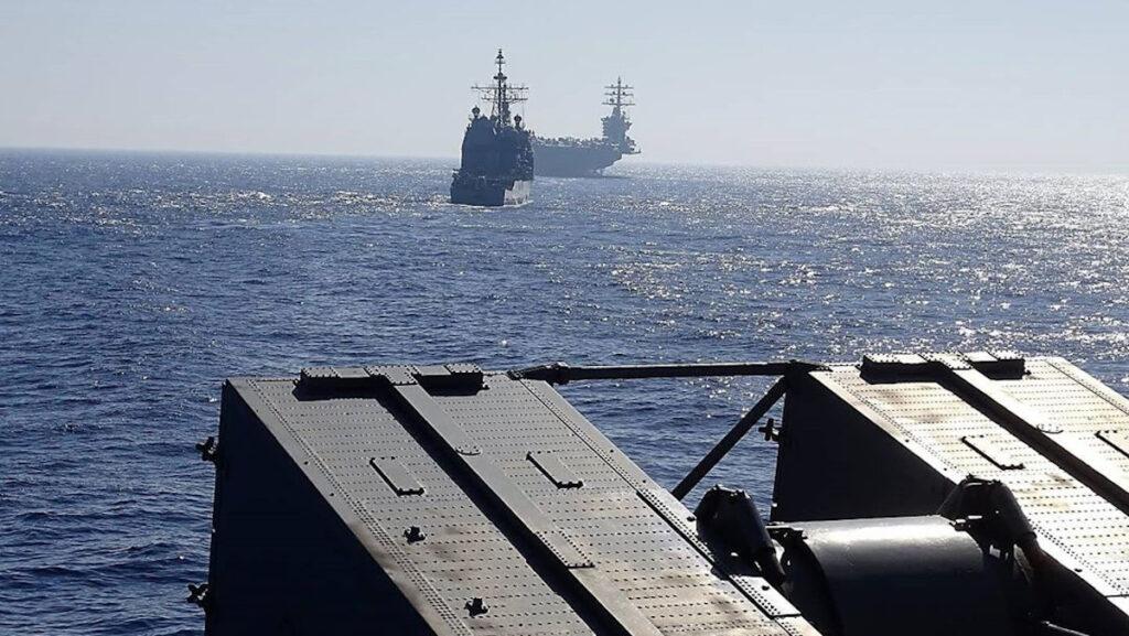 Συνεκπαίδευση μονάδων του ΠΟλεμικού Ναυτικού με το αεροπλανοφόρο Αϊζενχάουερ