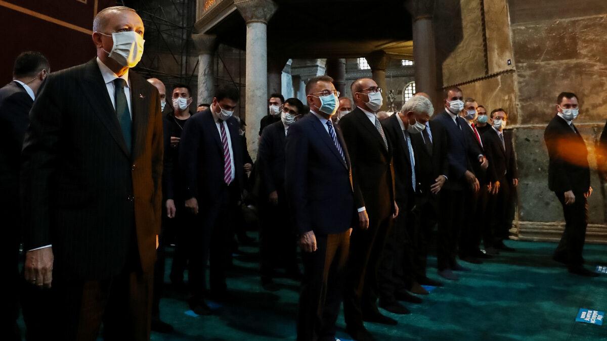 Από την μετατροπή της Αγίας Σοφίας σε Τζαμί - Ερντογάν / 24-7-2020