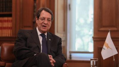 Νίκος Αναστασιάδης, Πρόεδρος της Κυπριακής Δημοκρατίας
