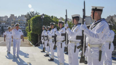 Απονομή πτυχίων στους αποφοιτήσαντες δόκιμους ναυτικούς 01/07/2020