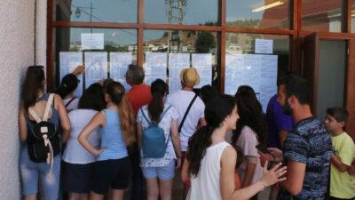 Ανάρτηση Αποτελεσμάτων Πανελληνίων Εξετάσεων στα σχολεία