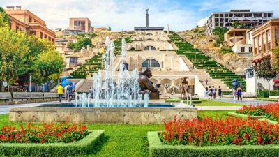 Γιερεβάν, Πρωτεύουσα Αρμενίας