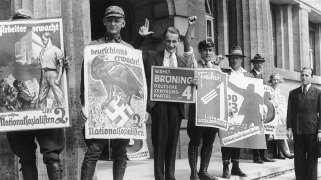 Φασίστες προπαγνδίζουν το κόμμα του Χίτλερ