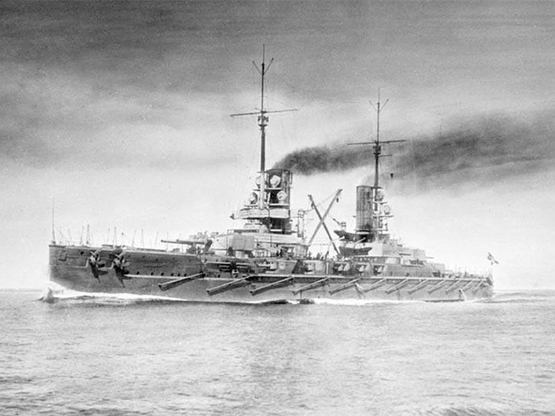 Α'ΠΠ - Γερμανία - αντιπολεμικό κίνημα, 1917 - πλοίο «Πρίγκιπας Λεοπόλδος»