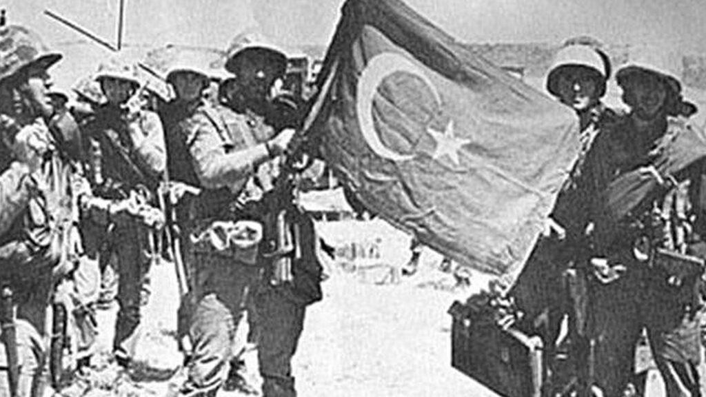 Τούρκοι στρατιώτες στην Κυρήνεια