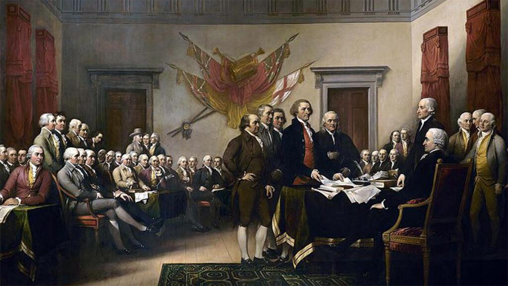 ΗΠΑ - Διακήρυξης της Ανεξαρτησίας των ΗΠΑ, 1776