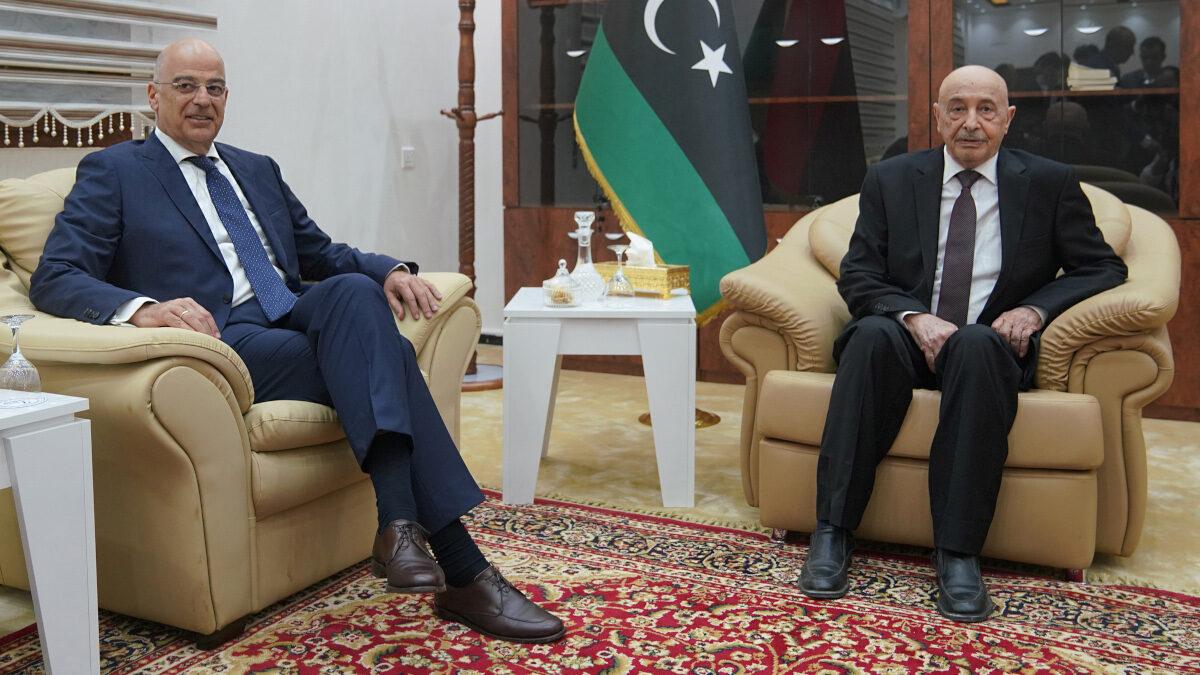 Συνλάντηση Δένδια Σάλεχ- Λιβύη