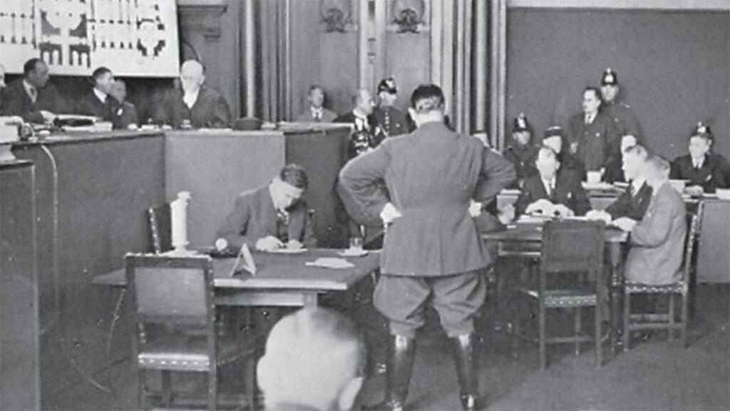 Ναζιστική Γερμανία - εμπρησμός του Ράιχσταγκ, 1933 - Γκ. Δημητρόφ - δίκη