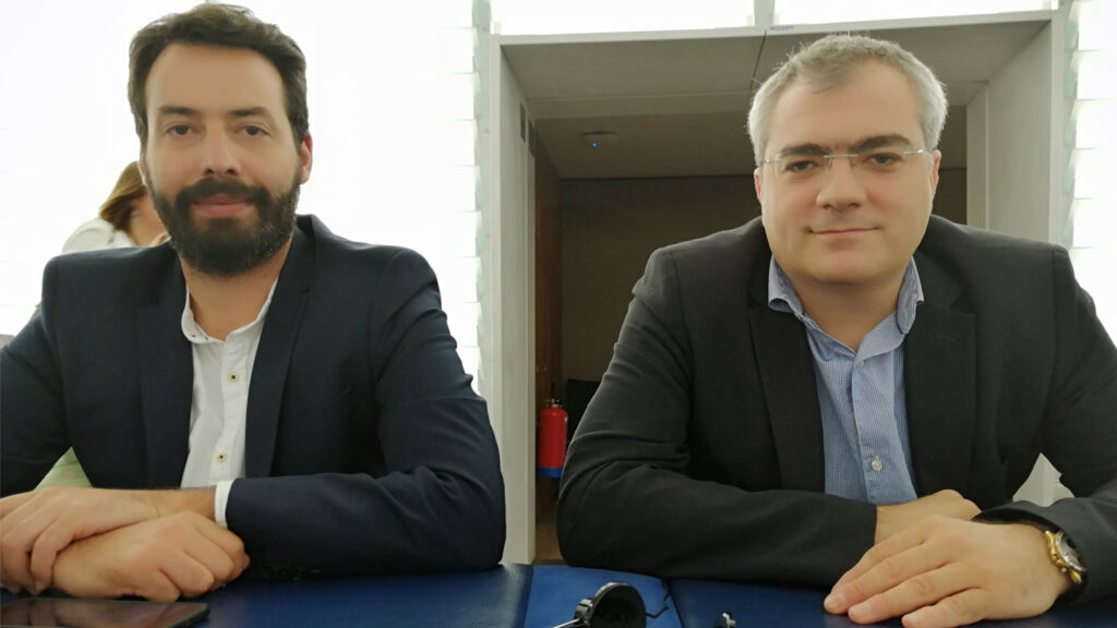 Οι Ευρωβουλευτές του ΚΚΕ, Λευτέρης Νικολάου - Αλαβάνος και Κώστας Παπαδάκης