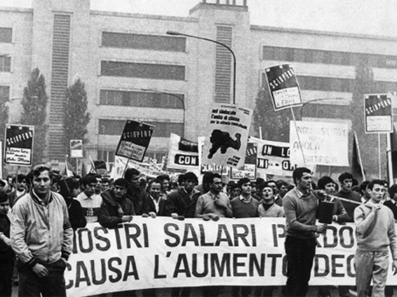 Ιταλία - εργατικό κίνημα - ΦΙΑΤ - Απεργία, 1969