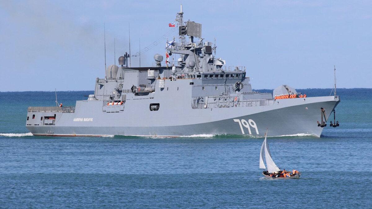 Φρεγάτα ADMIRAL MAKAROF του Ρωσικού Στόλου της Μαύρης Θάλασσας