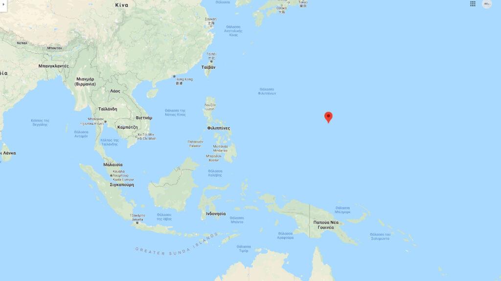 Θάλασσα Φιλιππίνων και Νότια Κινεζική Θάλασσα - Νήσος Γκουάμ (Φιλιππίνες) - Βάση των Ενόπλων Δυνάμεων των ΗΠΑ