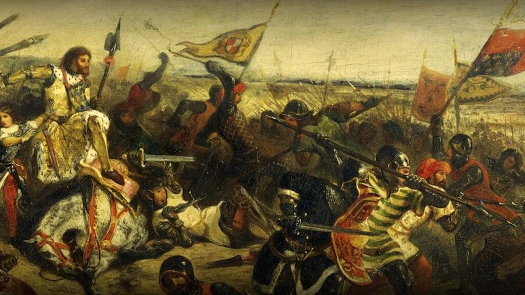 Γαλλία - Εκατονταετής πόλεμος - Η μάχη του Καστιγιόν
