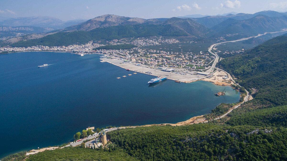 Λιμάνι και παραλιακό μέτωπο Ηγουμενίτσας