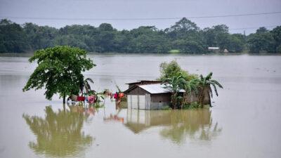 Ινδία πλημμύρες