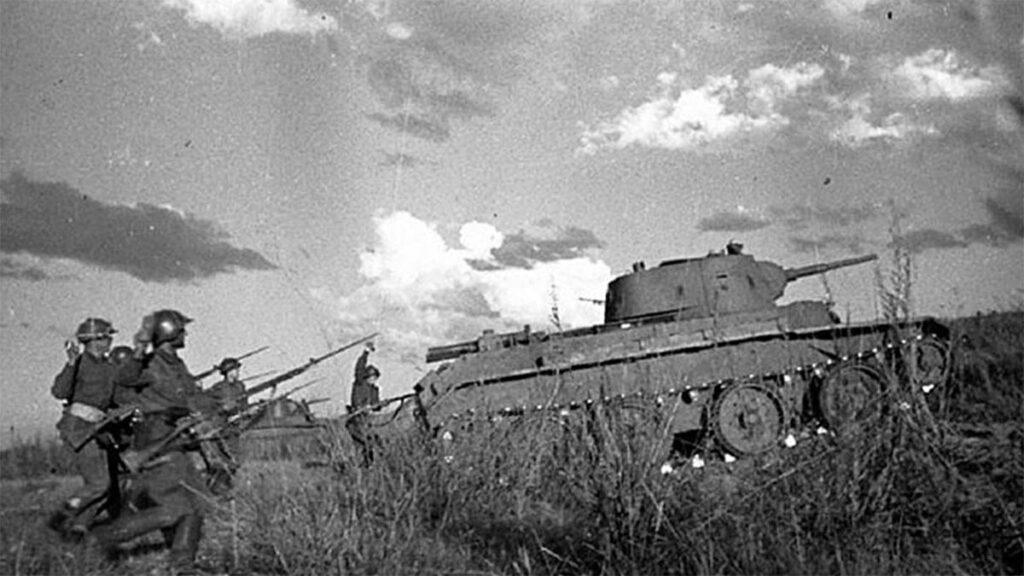 Επίθεση του Κόκκινου Στρατού κατά των ιαπωνικών θέσεων