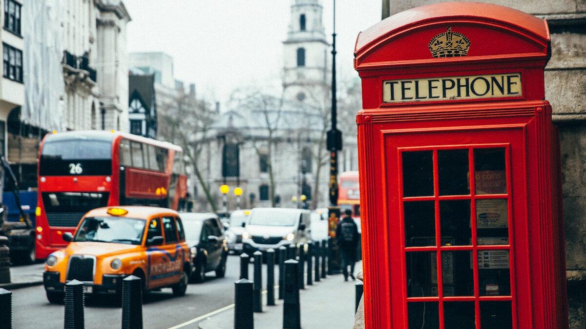 Λονδίνο- Βρετανία- Καρτοτηλέφωνο