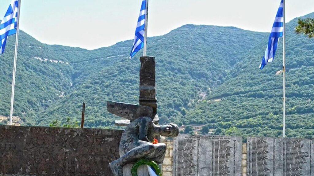 Το μνημείο του ολοκαυτώματος στη Μουσιωτίτσα