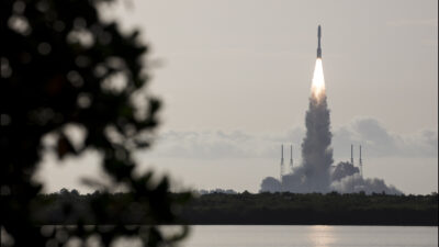 Rover Perseverance της NASA εκτόξευση