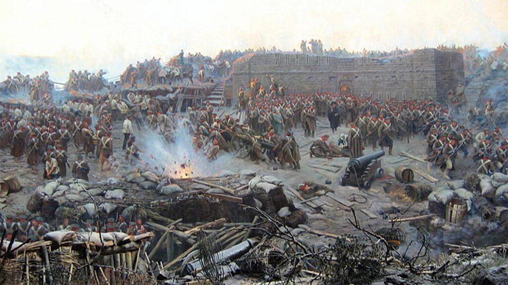 Ρωσία - Παραδουνάβιες χώρες - Μάχη του Κριμαϊκού Πολέμου, 1853