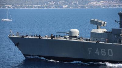 """Φρεγάτα """"Αιγαίον""""- Πλοίο του Πολεμικού Ναυτικού"""