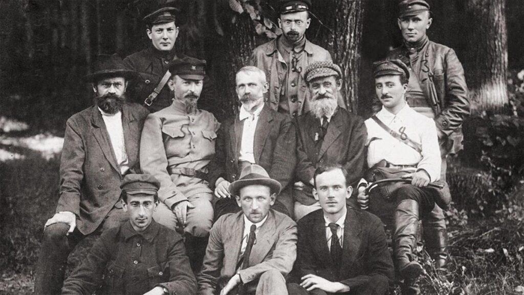 Τα μέλη της Προσωρινής Επαναστατικής Επιτροπής της Πολωνίας