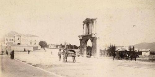 Πύλη Ανδριανου 1888-1900