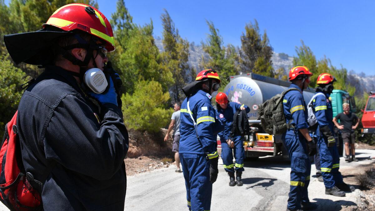 Πυρκαγιά στην Περαχώρα Λουτρακίου