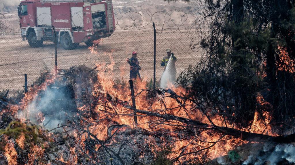 Πυρκαγιά στις Κεχριές Κορινθίας - 09/07//2020