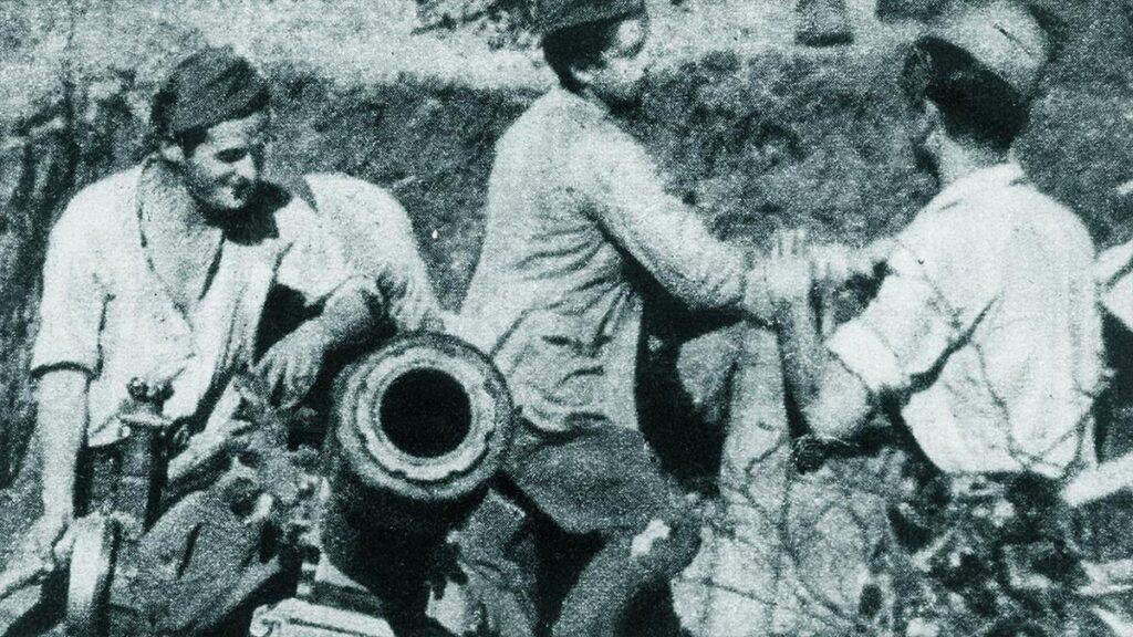 Πυροβολικό του ΔΣΕ