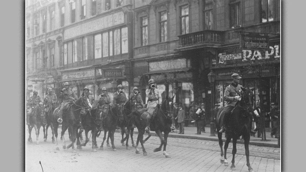 Ρουμανικά στρατεύματα στη Βουδαπέστη