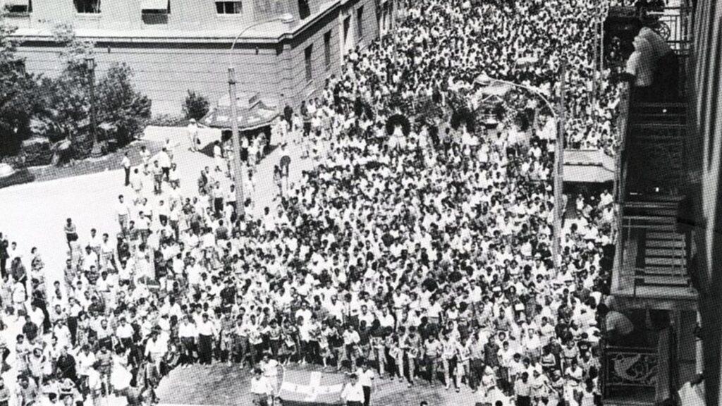 Η κηδεία του Σωτ. Πέτρουλα, μετατράπηκε σε διαδήλωση