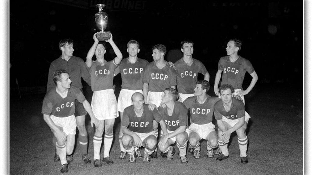Η πρωταθλήτρια Ευρώπης 1960, Σοβιετική Ένωση