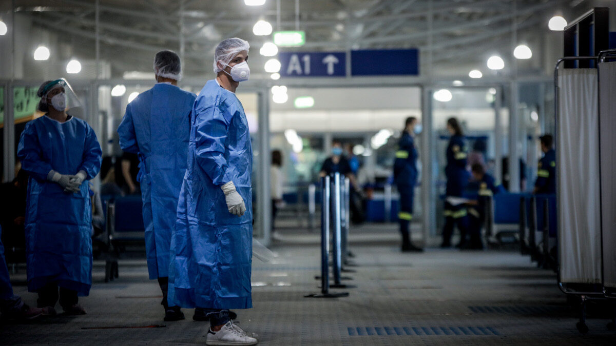 Τεστ για Κορονοϊό στο Αεροδρόμιο Αθηνών