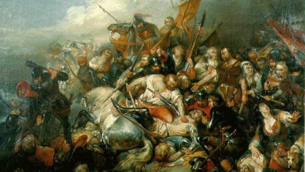 Φλαμανδία - Γαλλία - Μάχη των Χρυσών Σπιρουνιών, 1302