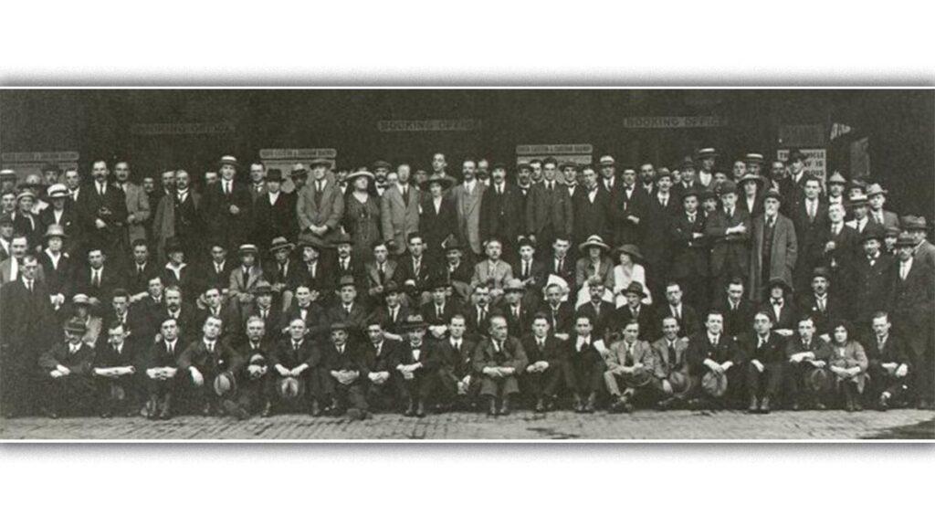 Ο συμμετέχοντες στο Ιδρυτικό Συνέδριο του ΚΚ Μ. Βρετανίας