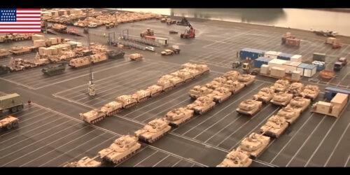 Απόβαση του Αμερικανικού Στρατού στο λιμάνι της Αλεξανδρούπολης 17/7/2020
