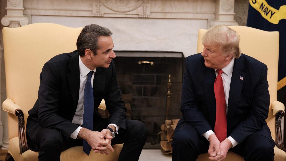 Συνάντηση Ντ. Τραμπ, Προέδρου ΗΠΑ με Κυρ. Μητσοτάκη, Πρωθυπουργού Ελλάδα