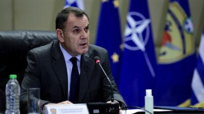 Ο Υπουργός Άμυνας, Νίκος Παναγιωτόπουλος