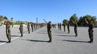Τελετές Ορκωμοσίας Νεοσύλλεκτων Οπλιτών Θητείας της 2020 Δ΄ ΕΣΣΟ 06-07/08/2020