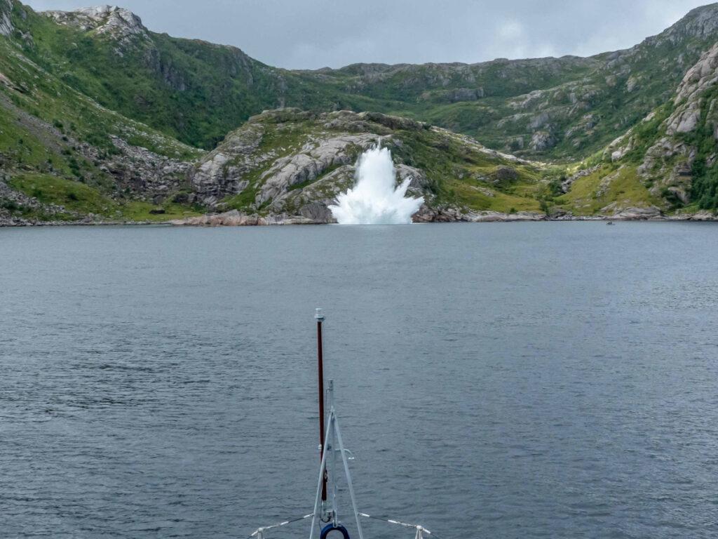 Ελεγχόμενη πυροδότηση νάρκης σε επιχείρηση της SNMCMG1 στη Νορβηγία