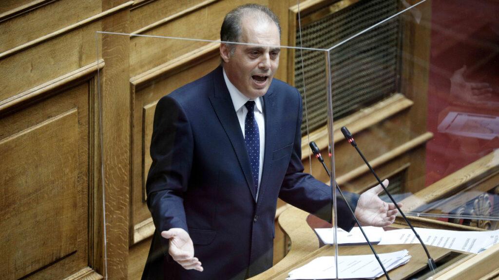 βελόπουλος στη βουλή