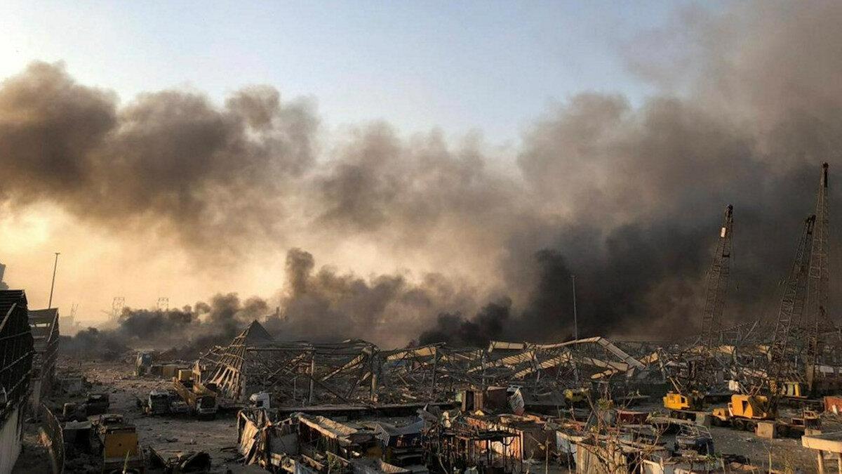 λίβανος έκρηξη