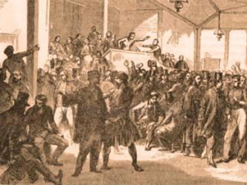 Οι πρώτες εκλογές στην Ελλάδα το 1844