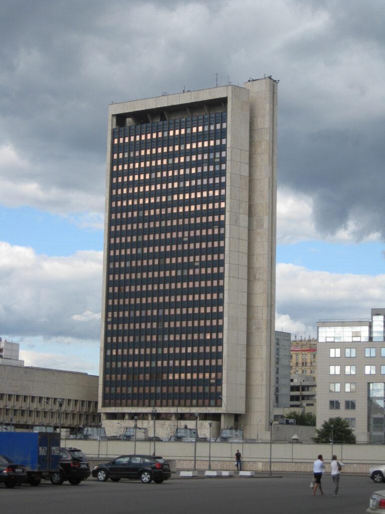 Κεντρικό κτίριο της Roscosmos, της ομοσπονδιακής διαστημικής υπηρεσίας της Ρωσίας, στη Μόσχα