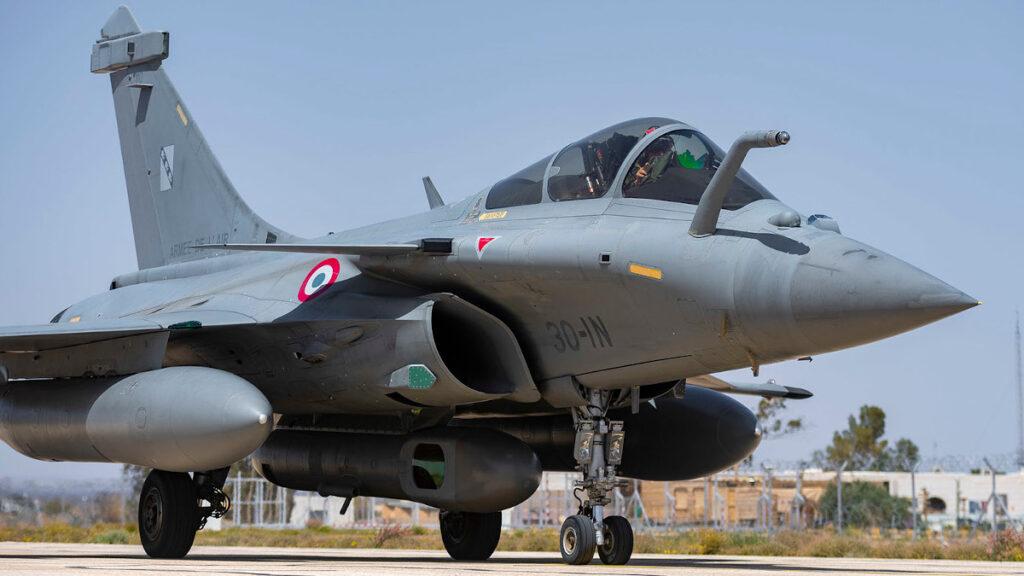 Φώτο Αρχείου / Μαχητικό Rafale της Γαλλικής Πολεμικής Αεροπορίας