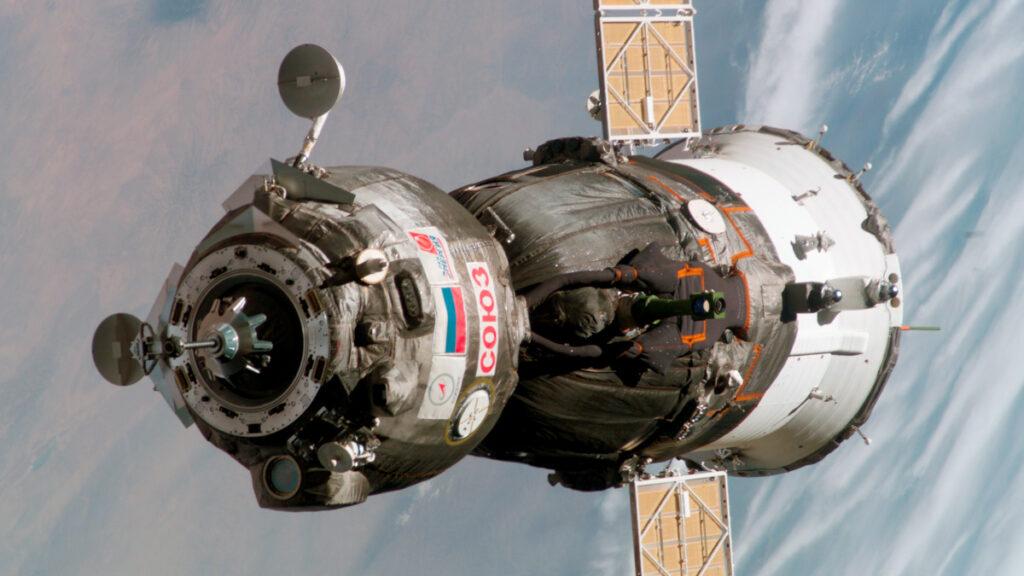 Το Soyuz_TMA-6 της Roscosmos, της ομοσπονδιακής διαστημικής υπηρεσίας της Ρωσίας / Πηγή: Roscosmos